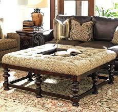 Upholstered Ottomans Fascinating Upholstered Ottoman Taptotrip Me