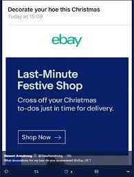 hoe hoe hoe ebay ridiculed email blunder deadline news