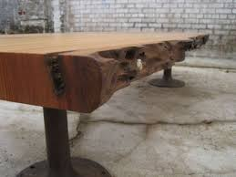 Build Wood Slab Coffee Table by Live Edge Long Table Google Search Studio 3 Pinterest Coffee