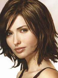 choppy bob hairstyles for thick hair photo choppy shoulder length bob hairstyles for thick hair inside