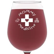 Best Mother Days Gifts Amazon Com Mommy Medicine Funny Wine Glass 13 Oz Best Mother U0027s