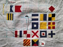 Nautical Code Flags Signal Flags Pdxstitch