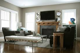 Cozy Fireplaces Fireplace Decorating Ideas Condo Living Room With - Decorate a small living room