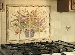 kitchen backsplash murals tile kitchen backsplash murals