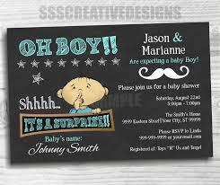 baby shower boy u2013 blue u2013 invitation u2013 surprise u2013 chalk board