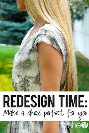 redesign time how to make a dress perfect for you tutorials