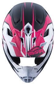 pink motocross gear msr sc 1 score helmet revzilla