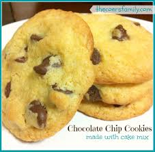 yellow cake mix cookies recipe and photos red cookbook