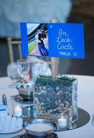 baseball wedding table decorations carleton wedding baseball centerpiece may 30 2014 pinterest