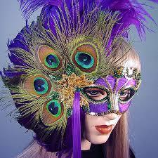 peacock masquerade masks mardi gras peacock mask renaissance handmade