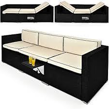 canape de jardin canapé de jardin lounge divan de jardin table réglable transat
