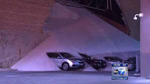 lexus dealership salt lake city morton salt clean up continues after avalanche of salt spills onto