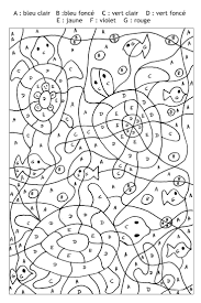 best coloriage magique images on pinterest math games
