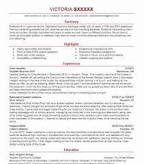 Crew Member Job Description For Resume by Best Restaurant Crew Member Resume Example Livecareer