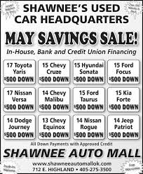 toyota credit bank the ada news classifieds dealer special autos toyota yaris