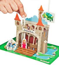 medieval castle paper theater printable pdf toy diy craft kit
