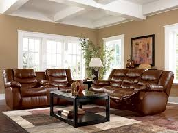 Living Room With Brown Leather Sofa Room Using Brown Decor Cookwithalocal Home And Space Decor