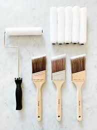 what type of paint brush for kitchen cabinets how to paint a kitchen island thistlewood farm