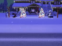 sims 3 holiday lights ben and michelle s christmas snowflake day together 12 19 12 the