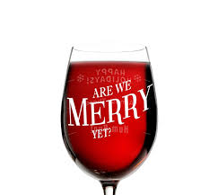 christmas wine get a christmas fix with these christmas wine glasses wine gifted