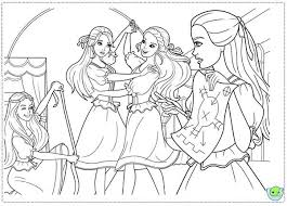 barbie musketeers coloring pages falling