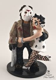 betty boop cake topper jason and betty boop custom wedding cake topper my custom cake