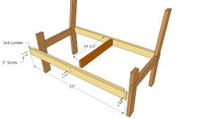 Woodworking Plans Park Bench Free by Park Bench Plans Simple Bench Decoration