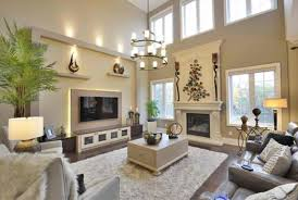 Lighting For Living Room With High Ceiling Interesting Decorating Ideas For Living Rooms With High Ceilings