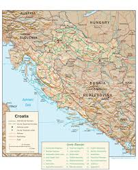 maps of croatia maps perry castañeda map collection ut library