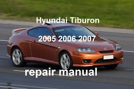 hyundai tiburon 2005 2006 2007 repair manual youtube