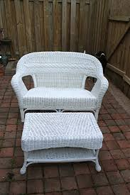 How To Fix Wicker Patio Furniture by Simply Diy 2 Upgraded Wicker Patio Set
