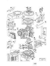 briggs u0026 stratton briggs and stratton engine parts model 289707