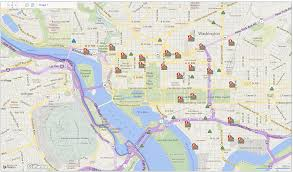 Pg E Power Outage Map Widespread Power Outage Reported In Washington Dc Area