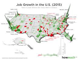 Metro Chicago Map by Visualizing U S Job Market Growth And Decline In A 3d Map