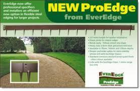 5 inch proedge steel landscape edging 40ft box on sale