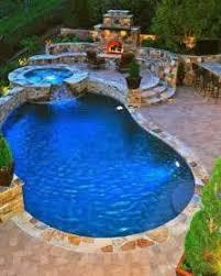 backyard pool design ideas amazing garden pools with slide pool