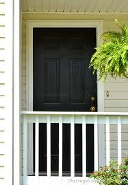 door makeover with new behr marquee paint