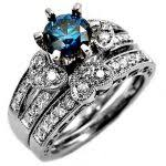 blue diamond wedding rings blue diamond wedding rings blue engagement rings and blue diamond