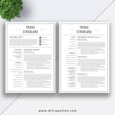 resume templates exles free 2 page resume template two format in ms word exle free
