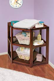 corner baby changing table diaper corner baby changing table solid hardwood construction water