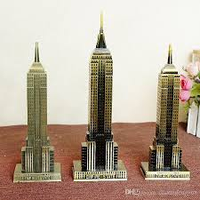 2017 american metal craft gift empire state building model home