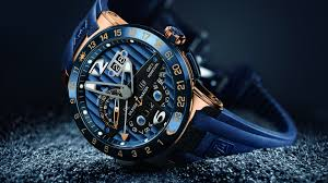 Creative Wallpaper Blue Stylish Watch Ulysse Nardin Wallpapers And Images