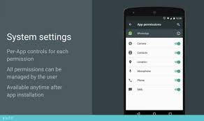 android settings android m and privacy giving users app permissions
