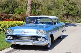 4 Door Muscle Cars - all american classic cars 1958 chevrolet biscayne 2 door sedan