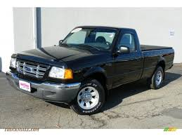 Ford Ranger Truck Cab - 2001 ford ranger xlt regular cab in black clearcoat a78440