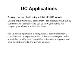 personal quality essay college application essay workshop ppt
