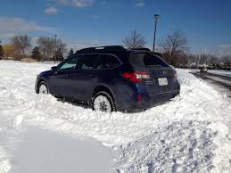 subaru van 2015 how good is a subaru in the snow autoguide com news