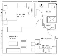 single room house plans floor plan bedroom cottages cabin ground master design floor