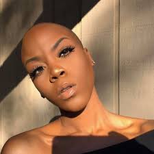 56 year old ebony women beautiful black women with bald heads essence com