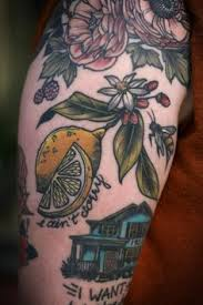 tangy lemon tattoo tatoo and tattoo ink